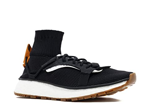 sneakers for cheap 15068 9547c Amazon.com adidas Mens Alexander Wang RUN CBLACKCBLACKGUM Boost Sole  CM7825 (8) Shoes