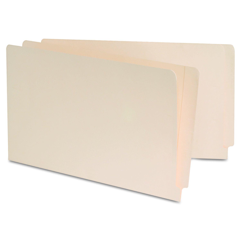 Manila Reinforced Shelf Folder, Legal, 100 Box