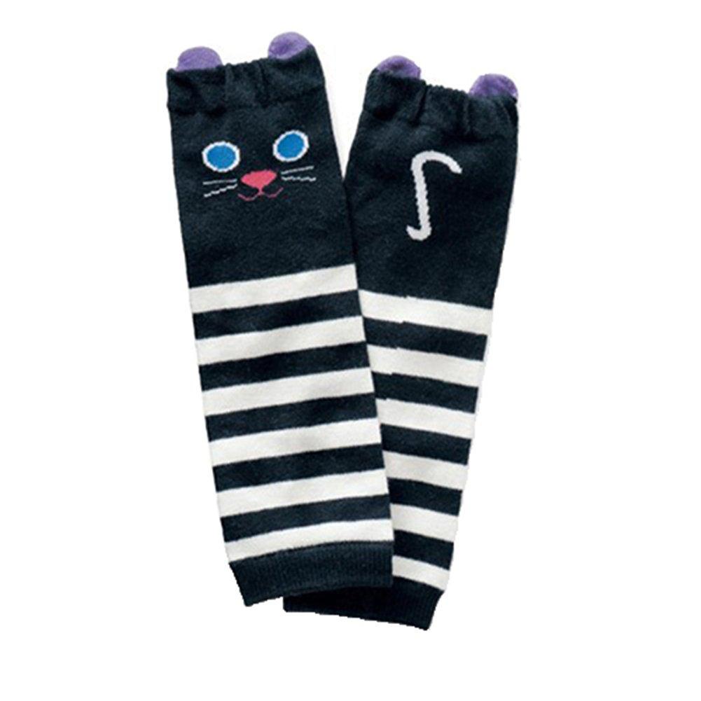 Tangbasi® Toddler Baby Boys Girls scaldamuscoli per ginocchia calze di cotone lunga leggings 1 taglia unica