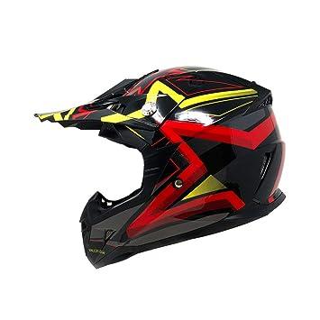 Amazon.com: Casco de moto para jóvenes Off Road MX ATV Dirt ...