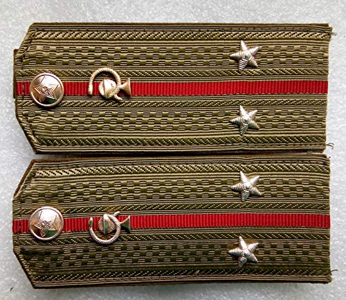 Shoulder straps medical service lieutenant For shirt USSR Soviet Union Russian Armed Forces Military Uniform Cold War Era