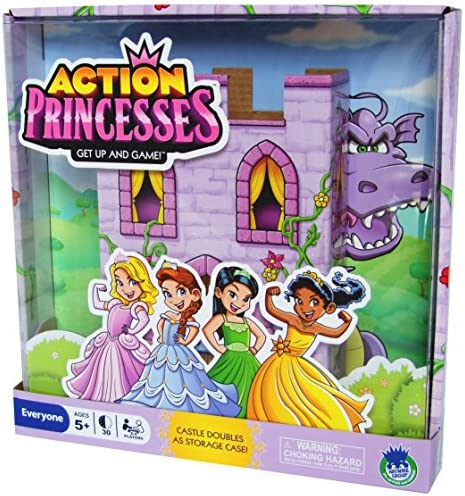 Haywire Group Action Princesses Board product image