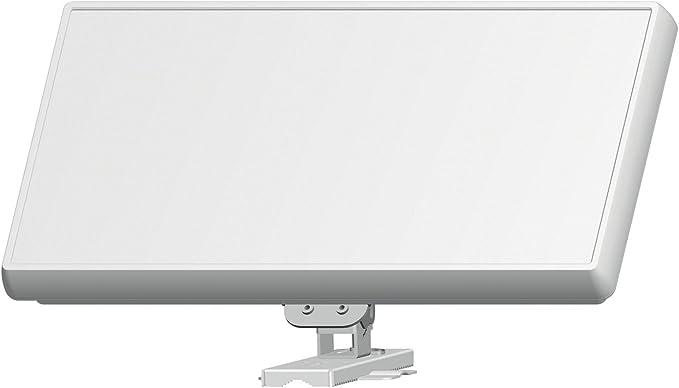 Selfsat H21D2 - Antena de TV (10.7-12.75 GHz), blanco ...