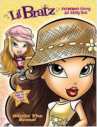 Lil\' Bratz Jumbo Coloring Book, Hitting\' The Scene! by Modern ...