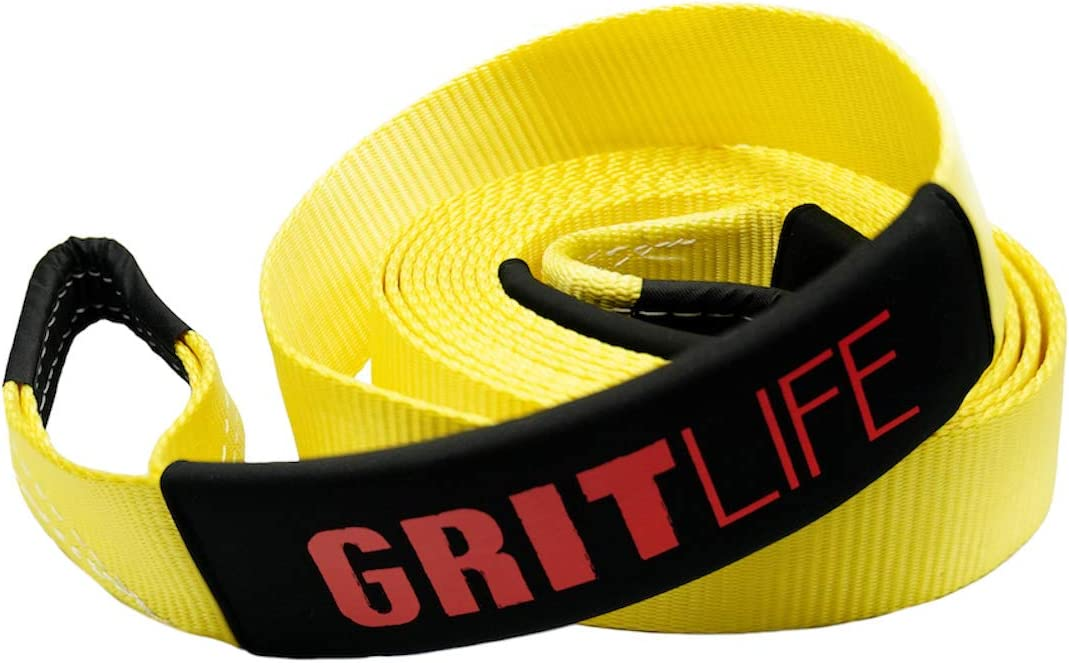 Tools & Home Improvement Straps GritLife Tow Strap 30ft x 3 Lime ...
