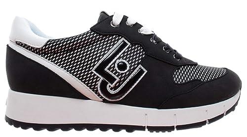 LIU JO Zapatos Mujer Zapatillas B19021 TX027 Gigi 02: Amazon.es: Zapatos y complementos