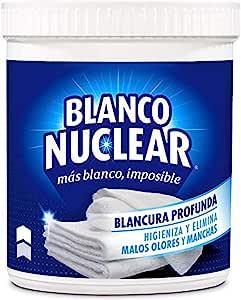 Blanco Nuclear en Polvo Quitamanchas Blanqueante - 450 gr ...