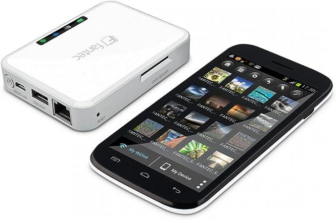 Fantec MWiD25-DS Smartphone Blanco estación Dock para móvil ...
