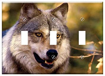 amazon co jp waplate pretty wolf スイッチ壁プレートカバー
