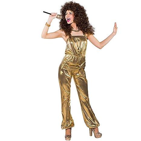 promo code cbc89 f524a ORLOB Party Jumpsuit, Oro (Tuta) oro gold 34/36: Amazon.it ...