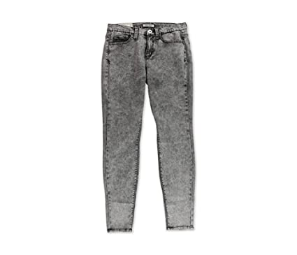 Amazon.com: Junior's Mudd High-Waisted Acid Wash Jeggings Color ...