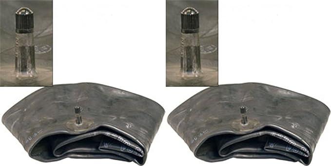 2 Two 20x10-9 20x10.00-9 ATV Mower Tire Inner Tubes TR6 Metal Valve Heavy Duty