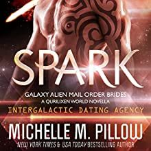 Spark: A Qurilixen World Novella: Galaxy Alien Mail-Order Brides, Book 1 Audiobook by Michelle M. Pillow Narrated by Kylie Stewart