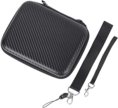 Drone Transmitter Case PU Carbon Grain Portable Waterproof Transmitter