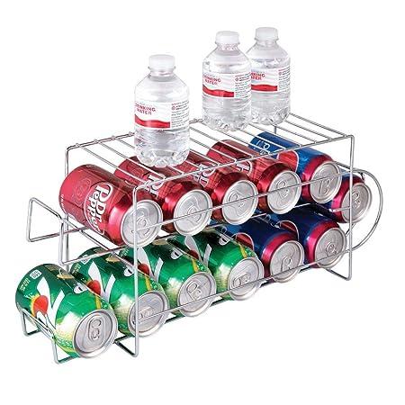 mDesign Organizador de frigorífico para alimentos - Moderno y ...
