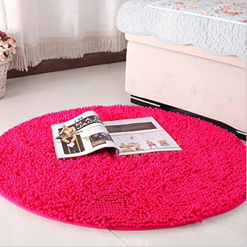 Ustide Hot Pink Girls Room Rug Soft Living Room Small Carpet ()