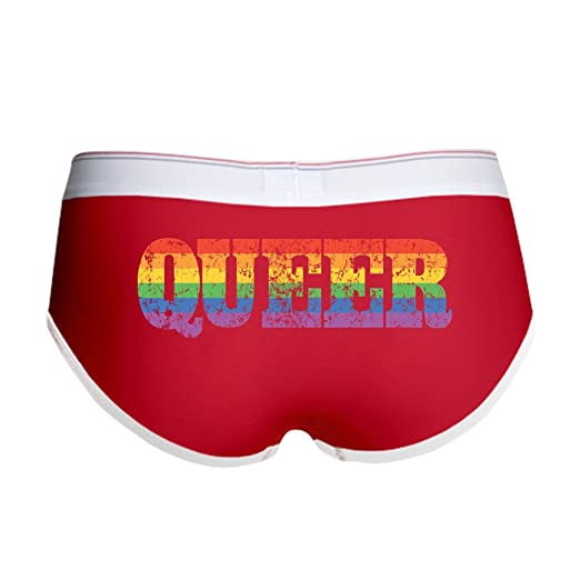 d5f075d6759 Amazon.com  CafePress - Retro Queer Women s Boy Brief - Women s Boy ...