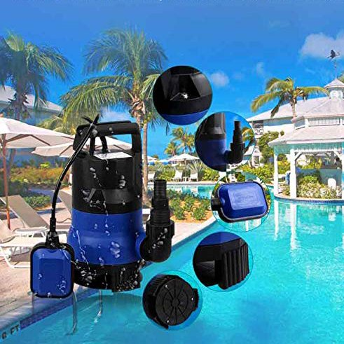 miageek-us-stock-2115gph-portable-transfer-submersible-pump-400w-cleandirty-water-pump-with-15ft-cable-and-float-switch12-hp-blue