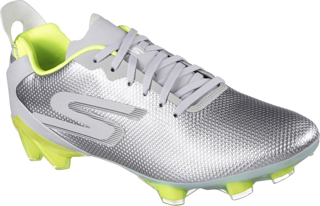 Skechers メンズ B06XQYCPGR 11 D(M) US|Gray/Lime Gray/Lime 11 D(M) US