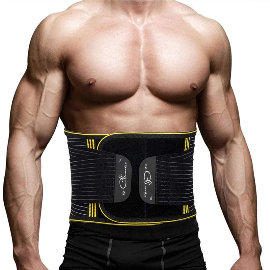 Chenguojian Waist Slimmer Belt/Trimmer Sweat Belt for for Back Support, Weight Loss, Sweat Enhancer, Body Slimmer (Size : S) by Chenguojian