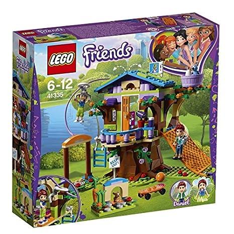 Lego Friends - La cabane dans les arbres de Mia - 41335 - Jeu de Construction