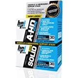 BPI Sports A-HD Elite/Solid Combo 500/550mg Testosterone Booster Capsules, 30 Count
