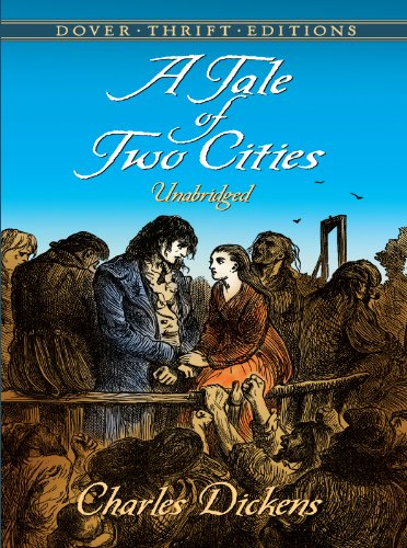 A Tale of Two Cities (Dover Thrift Editions) (Frankenstein Leather Bound)