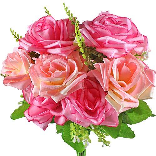 Gtidea-2pcs-Artificial-Flower-Bouquet-7-Heads-Arrangement-Silk-Rose-Bridal-Home-DIY-Floor-Garden-Office-Wedding-Decor