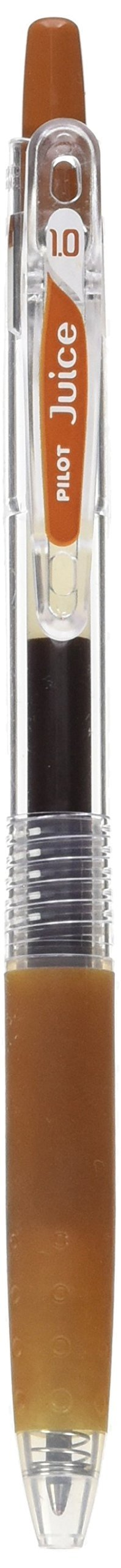 Pilot Juice 1.0mm Gel Ink Ballpoint Pen, Brown (LJU-10M-BN)