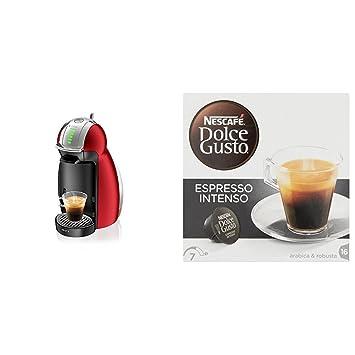Krups Genio Rojo KP1605 - Cafetera Nestlé Dolce Gusto sistema de cápsulas automáticas 15 bares de