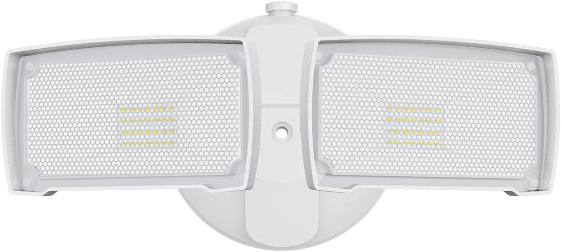 Amico LED Security Lights Outdoor, 20W, 5000K, 2200LM, IP65 Waterproof, ETL Certificated, Adjustable Flood Light for Exterior Use