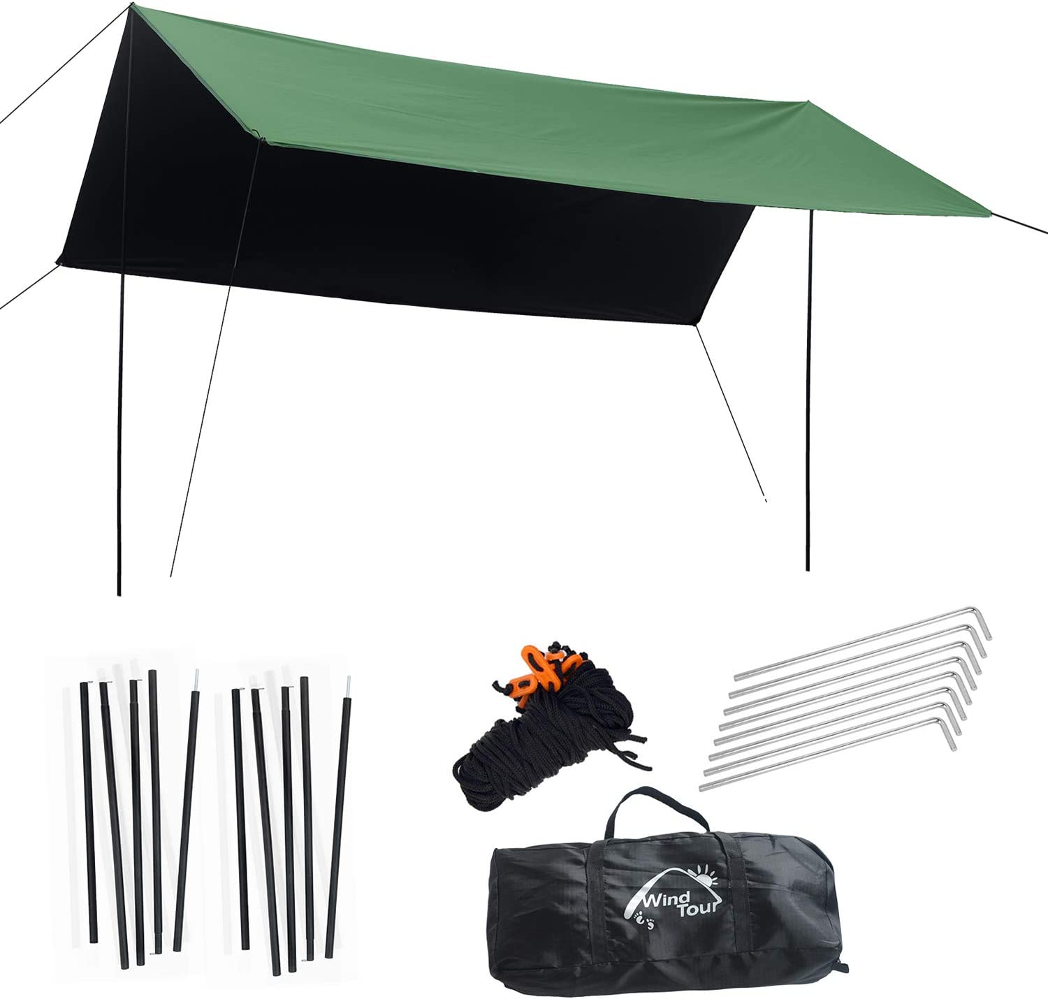 Wind Branded goods Tour Portable Multifunctional Outdoor Traveling OFFicial shop Awn Camping