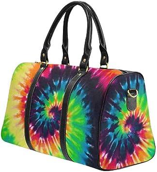 InterestPrint Unisex Duffel Bag Carry-on Bag Overnight Bag Weekender Bag Classic Popular Bottle Caps