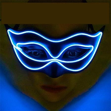 Yinglihua Máscara de Baile Mascarada Máscara Resplandeciente ...