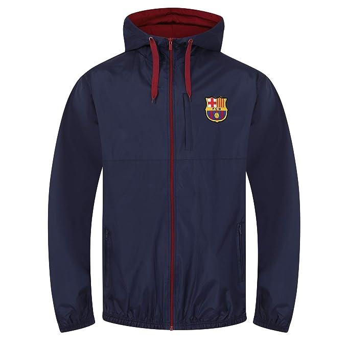 2bb33daf9a1e7 FC Barcelona - Chaqueta cortavientos oficial - Para hombre  Amazon.es  Ropa  y accesorios