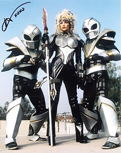 MELODY PERKINS as Astronema - Power Rangers In Space GENUINE AUTOGRAPH from Celebrity Ink