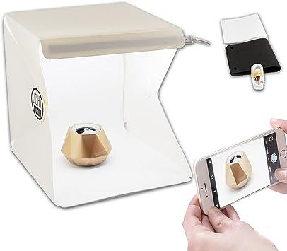 Foto de estudio de fotografía de fondo LED Mini Lightroom Caja de iluminación