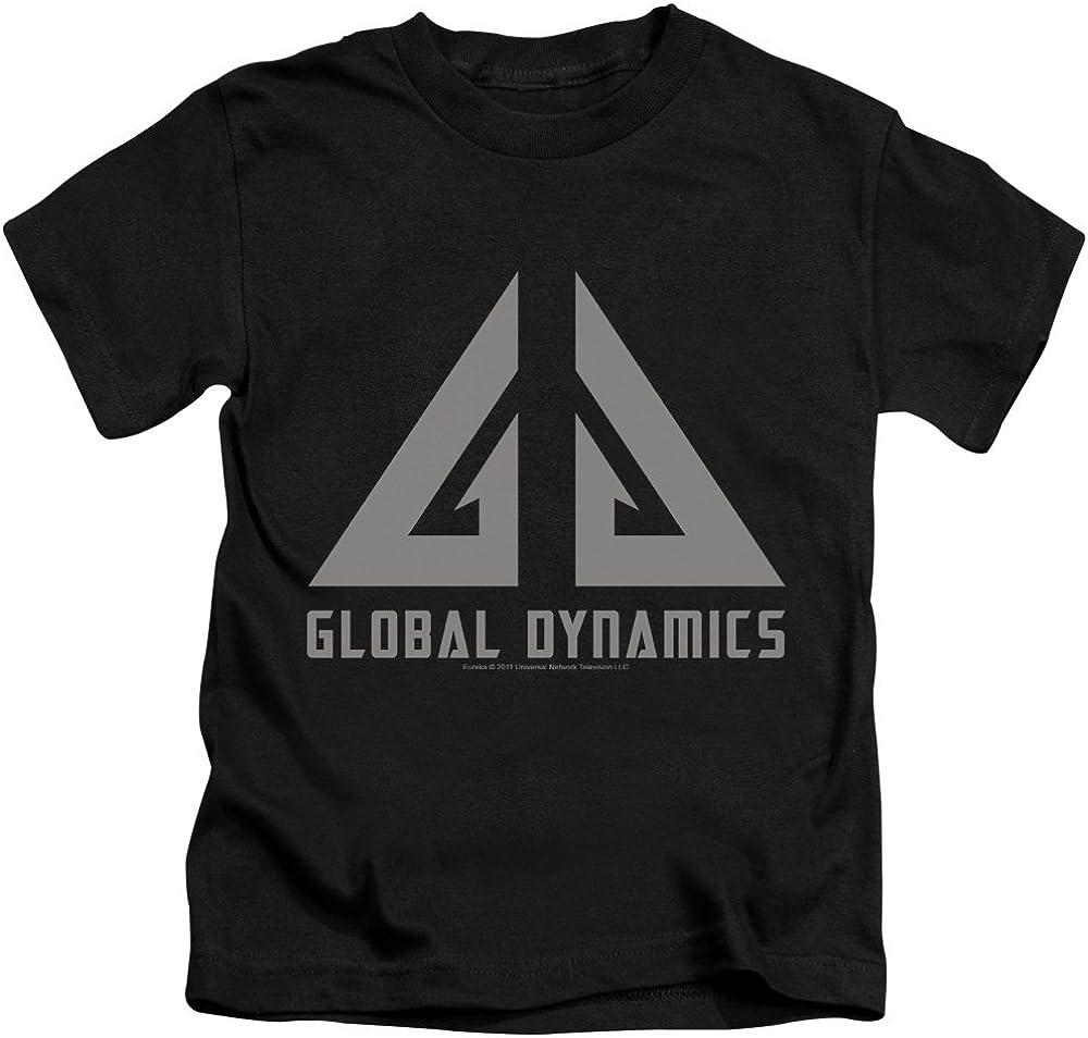 Eureka Global Dynamics Logo Unisex Youth Juvenile T-Shirt for Girls and Boys