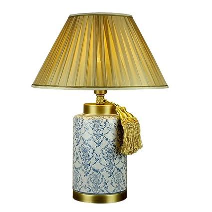 505 HZB Lámpara de Mesa Americana, Botella de Porcelana ...