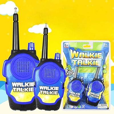 Langle Mini Portable Children Handheld Walkie Talkie Toy Outdoor Toy Walkie Talkies: Home & Kitchen