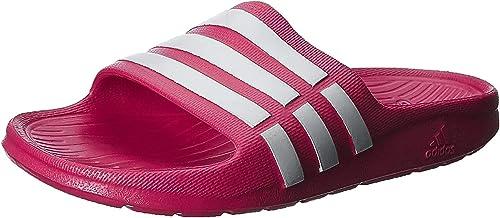 Ecología Auroch Pasado  adidas Duramo Slide, Unisex Kids' Beach & Pool Shoes: Amazon.co.uk: Shoes &  Bags