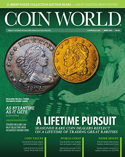 Coin World : Monthly Magazine (Del Amo Shopping)