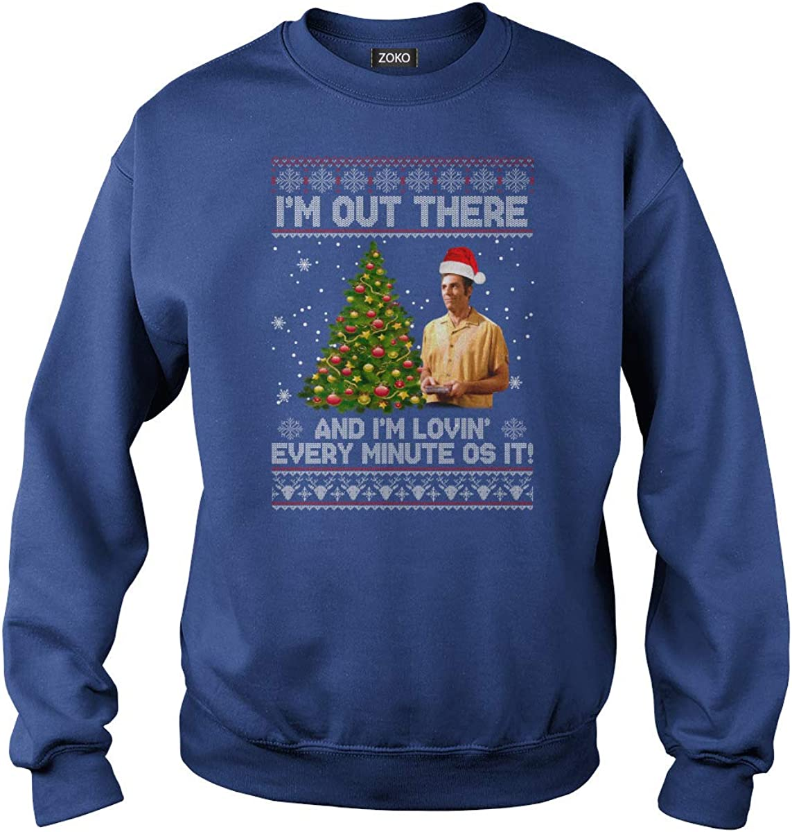 Im Out There and Im Lovin Every Minute Os It Ugly Christmas T-Shirt
