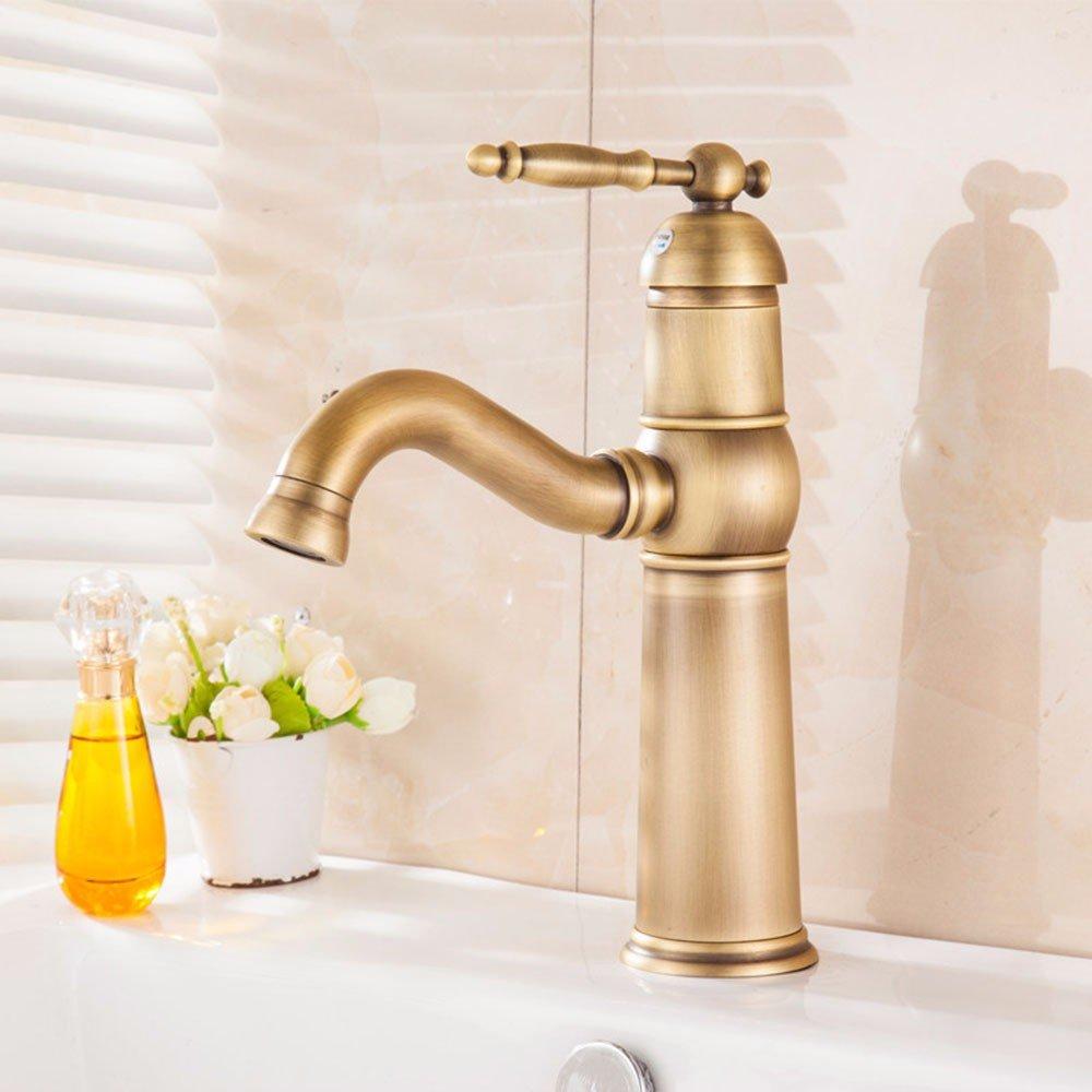 Restroom Fixtures LHbox Basin Mixer Tap Bathroom Sink Faucet The Jade hot and cold plunge basin mixer
