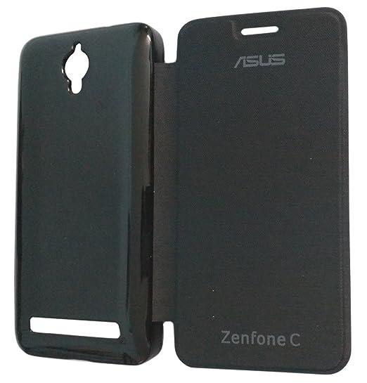 outlet store f6d2c 621d4 RKMOBILES Flip Cover Case for Asus Zenfone C - Black (New Model ...