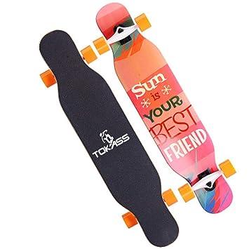 XYHLM Beginner - Tabla de Skate para Adultos y niñas, diseño ...
