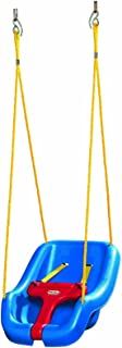 product image for Little Tikes 2-in-1 Snug 'n Secure Swing Blue