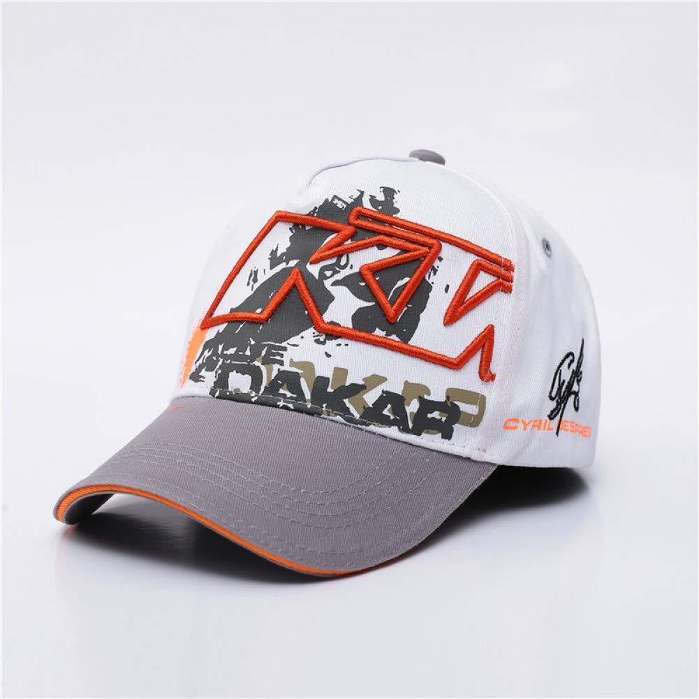 zgfeng Casquette de Baseball Broderie Chapeau Pilote de Camion de Moto Casquette Racing Cap F1 Moto GP Hat Bones