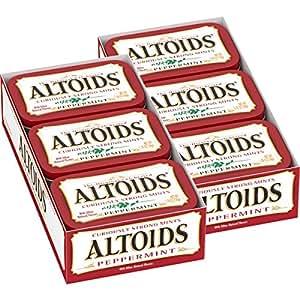 Altoids Peppermint Mints, 1.76 ounce (12 Packs)