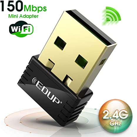 EDUP Mini 150Mbps USB Wifi Adapter for PC, Wireless N Network Adapter for  Desktop PC, Laptop - Nano Size Wifi Dongle Compatible with Windows 10/7/8/8.1/XP:  Amazon.co.uk: Computers & Accessories